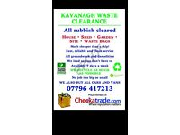 London/Surrey waste removal 7 days a week rubbish clearance demolition house clearance