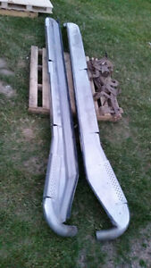 DODGE RAM MEGA CAB DUALLY STAINLESS  RUNNING BOARDS