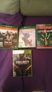 Various games Xbox one games