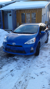 Toyota prius C upgrade package