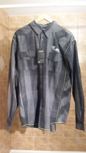 Men's Private Member Button Up Shirt - Size XL Never Worn