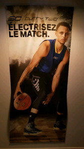 Poster /affiche de basketball Stephen Curry