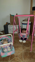 Doll Swing and Car Seat
