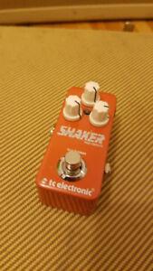 Tc Electronic Shaker Tremolo Vibrato Mini