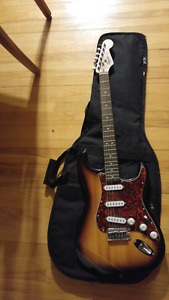 Squier bullet strat by fender for sale