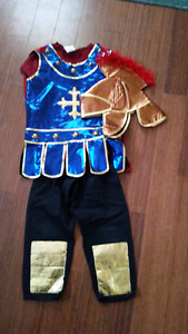 Boys knight costume size 5-6. Worn once.