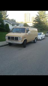 1991 GMC Vandura 1500 Minivan, Van