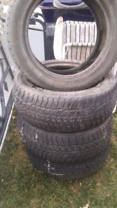 195/55/15 pneu hiver