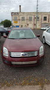2007 Ford Fusion SE SAFETIED $6000 ONLY 73,000KM