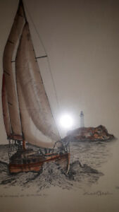 Stuart Oldale Print limited edition Off Horseshoe Bay  (122)