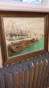 Framed Print East River New Glasgow