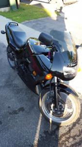 2000 Kawasaki Ninja 500 (ex500). Hindle Exhaust