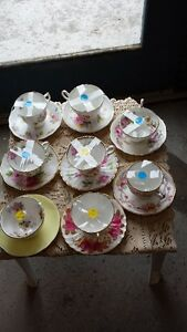 ASSORTED TEA CUPS AND SAUCERS Belleville Belleville Area image 1