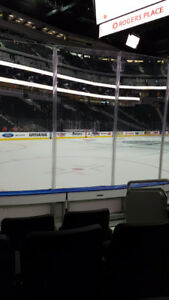 Lower Bowl Row 5 Section 107 *Oilers Attack Twice* Seats 3,4,5,6