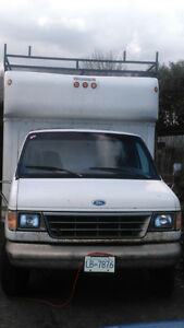 1996 Ford E-350 Powerstroke Diesel w.16' Box and NO Issues!!!