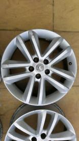 Vauxhall 17 inch alloy wheel vectra zafira astra x 1 4 available