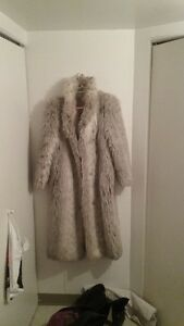 FAUX FUR COAT>>>MUST SELL!!