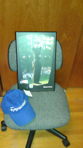 Golf cap and picture