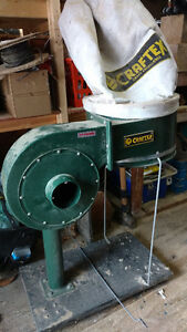 Craftex Dust collector 1hp