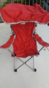 Chaise Canopy enfant/Child's Canopy Chair