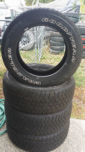 4 new Goodyear Tires