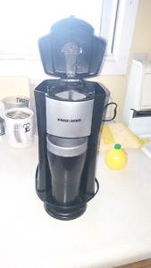 Black &decker sinhle serve coffee maker