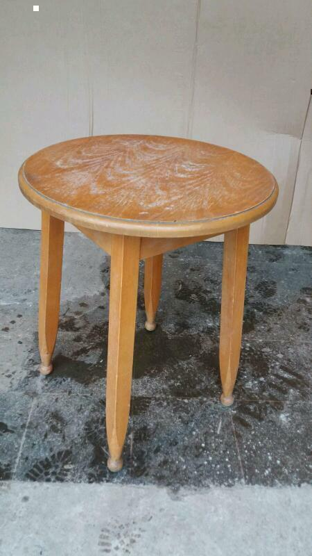 Vintage bistro tables (6 available)