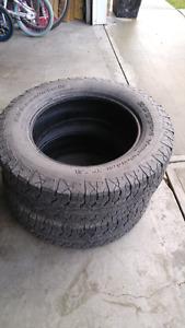 2 Bfgoodrich Rugged tires