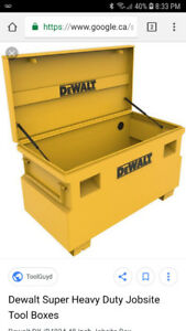 Dewalt Jobsite Tool Box for sale