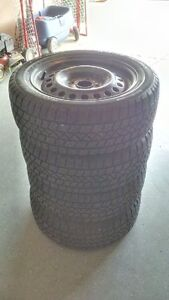 Winter Tire and Rim Package ... Excellent condition