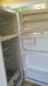 White GE  Refrigerator for Sale