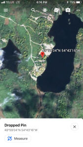 Land for sale Gander area in cabin country.