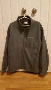 Men's Columbia Jacket Large Sage Green