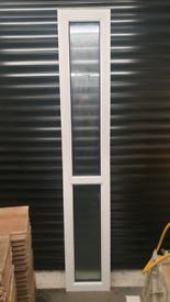 UPVC door double glazed side panel
