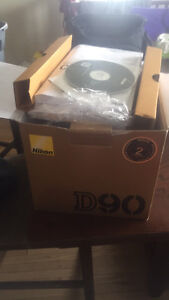 Nikon camera , case and 4 lens OBO