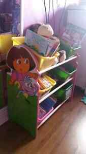 Dora toy storage!