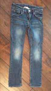 2 girls jeans size 7/8 H&M