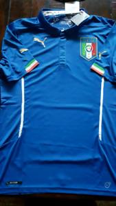 Italia Football Jersey- medium and large