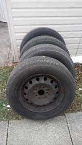 205/65R15 Tires and rims for Camry 2001