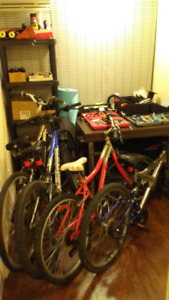 Experienced bicycle mechanic! Light repairs and tune ups!