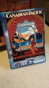 Two 1000-piece Puzzles