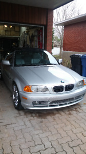convertible BMW 330CI 2001