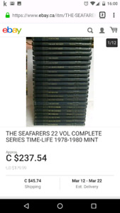 The seafarers 22 volume complete series time-life 1978-1980