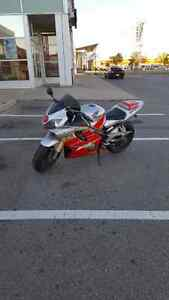 CBR 600 F4I lowered.  Need gone before season ends.