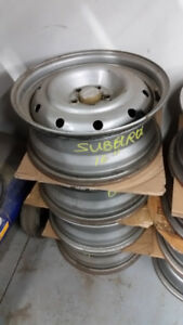 "OEM 16"" / 17""Subaru rims 5x100 in stock from $40 each"