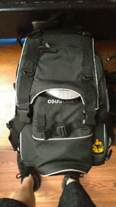 Small backpack and obus forme diaper backpack
