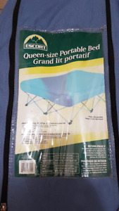 Queen Size Portable Bed with pump