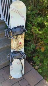 Ensemble snowboard