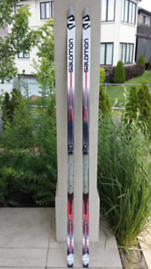 Skis (Classic, Waxless), Boots, Poles Used (Men)