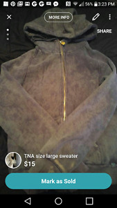 Large TNA Sweater